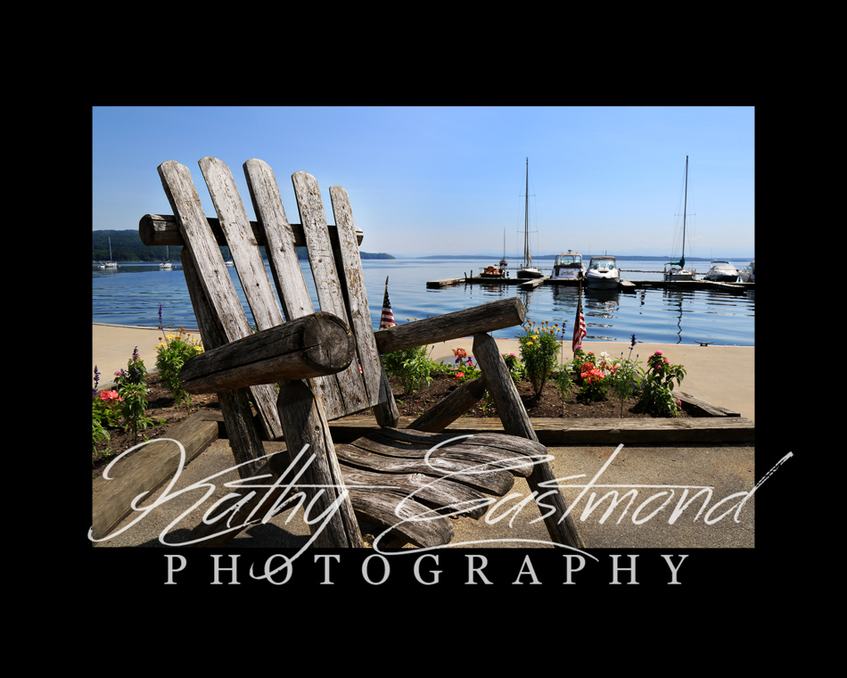 """""""Lake Champlain"""" 5x7 print mounted on a black 8x10 acid-free matte for $20 with free shipping within the U.S.  (Kathy Eastmond's signature will replace the copyright logo)"""
